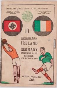 Jogo de futebol em 1936