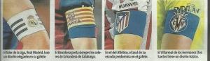 RM, FCB, Atlético, Villarreal