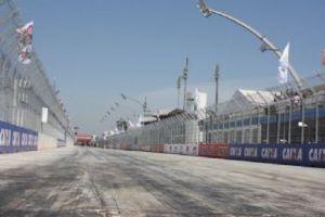Sambódromo do Anhembi, usado no traçado do circuito de São Paulo da F-Indy (www.band.com.br)