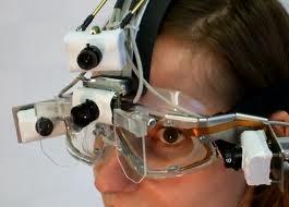 """Um aparelho de """"eye-tracking"""" (foto: geekfuzion)"""