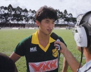 Kazu, maior jogador do Japão, começou no XV
